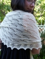 Classic Elite Silky Alpaca Lace Lily of the Valley Shawl Kit