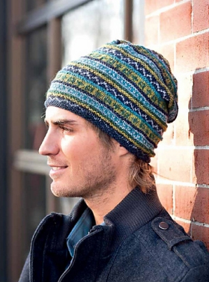 Rowan Felted Tweed Hued Toque Beanie Kit - Hats and Gloves