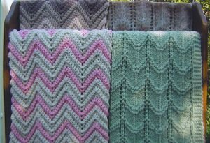 Ann Norling Patterns - z66 - Ripple to Knit and Crochet Pattern