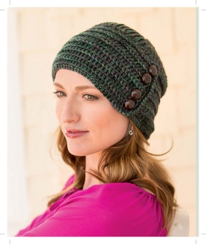 Anzula For Better Or Worsted Casa Batllo Cloche Kit - Crochet for Adults