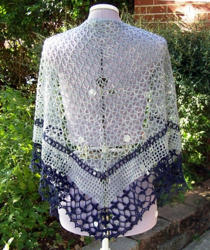 Malabrigo Lace Shawl Vigne Kit - Crochet for Adults