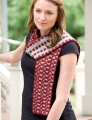 Berroco Ultra Alpaca Light Op-Art Reversible Scarf Kit