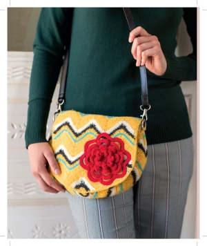 Cascade 220 Sport Petula Purse Kit - Felting
