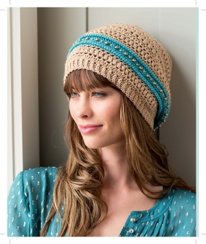 Cascade Venezia Sport Gypsy Slouch Kit - Crochet for Adults