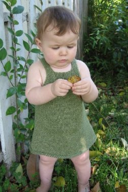 Knitting Pure and Simple Baby & Children Patterns - 0266 - Little Girl's Sundress or Jumper Pattern