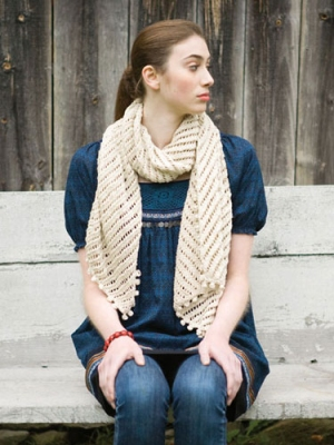 Berroco Vintage DK Courant Scarf Kit - Scarf and Shawls