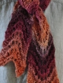 Crystal Palace Yarns Chunky Mochi Fan Stitch Scarf