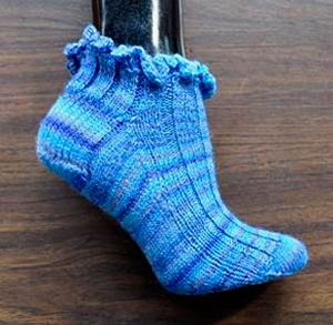 Crystal Palace Yarns Sausalito Short and Sweet Sock Kit - Socks