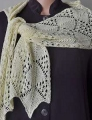Crystal Palace Yarns Panda Silk Chevron Lace Scarf