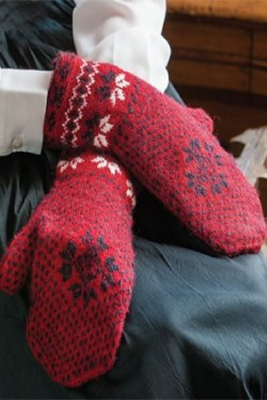 Rowan Fine Tweed Swedish Jamtland Mittens Kit - Hats and Gloves