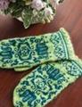 Shibui Knits Pebble Fritillary Mittens Kit
