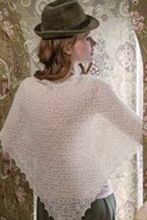 The Fibre Company Meadow Classic Gossamer Triangular Shawl Kit - Scarf and Shawls