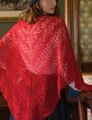 Classic Elite Silky Alpaca Lace Fire and Rose Shawl