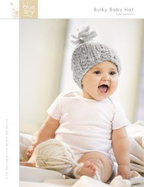 Blue Sky Fibers Adult Clothing Patterns - Bulky Baby Hat Pattern