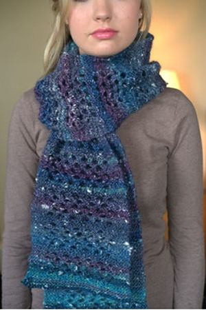 Plymouth Yarn Mushishi Eyelet Scarf Kit - Scarf and Shawls