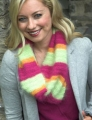 Plymouth Yarn Angora Brighten Up Winter Cowl Kit