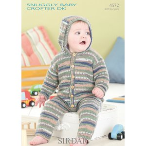 Sirdar Snuggly Baby and Children Patterns - 4572 All-In-One Pattern