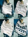 Sirdar Snuggly Baby and Children Patterns - 3086 Four Crochet Baby Blankets