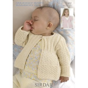 Sirdar Snuggly Baby and Children Patterns - 1802 Cardigans - PDF DOWNLOAD Pattern