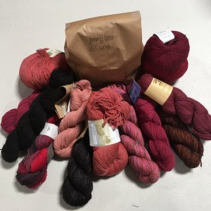 Jimmy Beans Wool Lace & Fingering Mystery Yarn Grab Bags Yarn