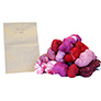 Jimmy Beans Wool Worsted Mystery Yarn Grab Bags Yarn - Pinks, Reds