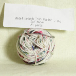 Madelinetosh Tosh Merino Light Samples Yarn - Outlander (Discontinued)