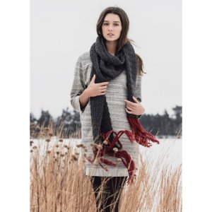 Blue Sky Fibers The Classic Series Patterns - Silver Bay Scarf Pattern