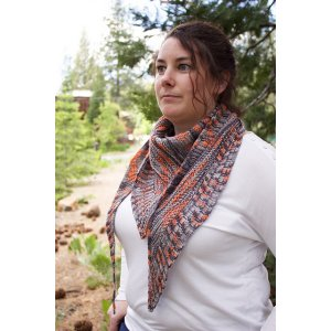 Unraveled Designs and Yarn Patterns - Unraveled Designs Patterns - Cell Block Shawlette - PDF Download