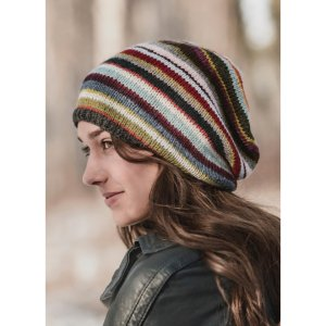 Blue Sky Fibers Traveler's Series Patterns - 21 Color Slouch - PDF DOWNLOAD Pattern