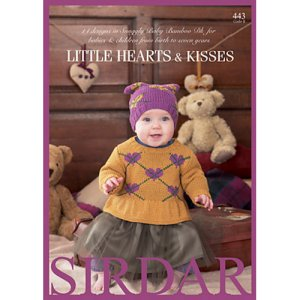 Sirdar Pattern Books - 443 Little Hearts and Kisses