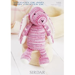 Sirdar Snuggly Patterns - Baby and Children Patterns - 1456 Bunny - PDF DOWNLOAD photo