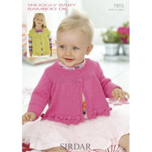 0d789c9f1 Sirdar Snuggly Baby and Children Patterns - 1915 Child Round Neck ...