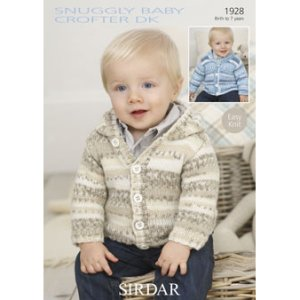 6a1f646dc800 Sirdar Snuggly Baby and Children Patterns - 1928 Cardigans - PDF ...