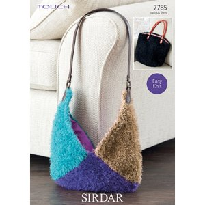 Sirdar Touch Patterns - 7785 Bags Pattern