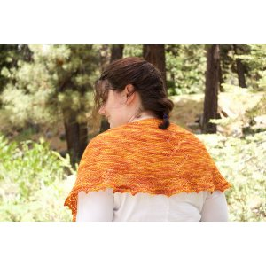 Heather Boyd Designs Patterns - Cholula Chevrons Shawlette - PDF DOWNLOAD Pattern