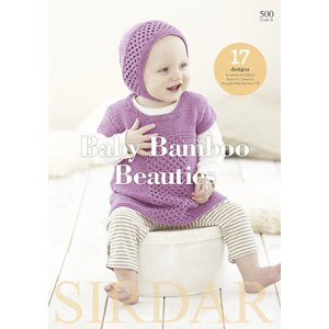 Sirdar Pattern Books - 500 Baby Bamboo Beauties