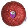 Nazli Gelin Garden Metallic Yarn - 702-10 Red with Gold