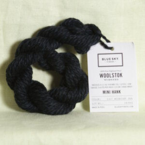 Blue Sky Fibers Woolstok Samples Yarn - 1317 Midnight Sea
