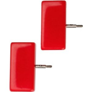 ChiaoGoo End Stoppers - Mini [M] - Red