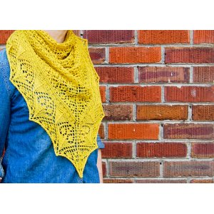 Freckles and Purls Freckles & Purls Patterns - Flower Market Shawl - PDF DOWNLOAD Pattern
