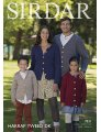 Sirdar Harrap Tweed DK Patterns - 7831 Family Cardigans