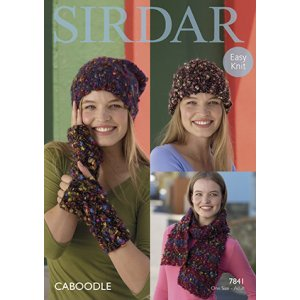 Sirdar Patterns - Caboodle Patterns - 7841 Accessories