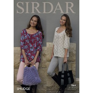 Sirdar Smudge Patterns - 7864 Bags Pattern