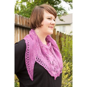 Battle Born Knits Patterns - Boysenberry Sherbet Shawl - PDF DOWNLOAD