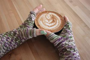 Battle Born Knits Patterns - Slippin' Fine Fingerless Mitts - PDF DOWNLOAD