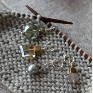 Wool & Wire Stitch Markers - Regular (Set of 3)