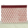 Knitter's Pride Hand Block Printed Fabric bags  - Reverie - Red - Medium