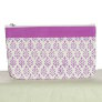 Knitter's Pride Hand Block Printed Fabric bags - Reverie - Purple - Small