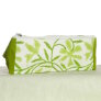 Knitter's Pride Hand Block Printed Fabric bags - Grace - Green Floral - Large (2)