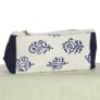 Knitter's Pride Hand Block Printed Fabric bags  - Grace - Blue Floral - Small (2)